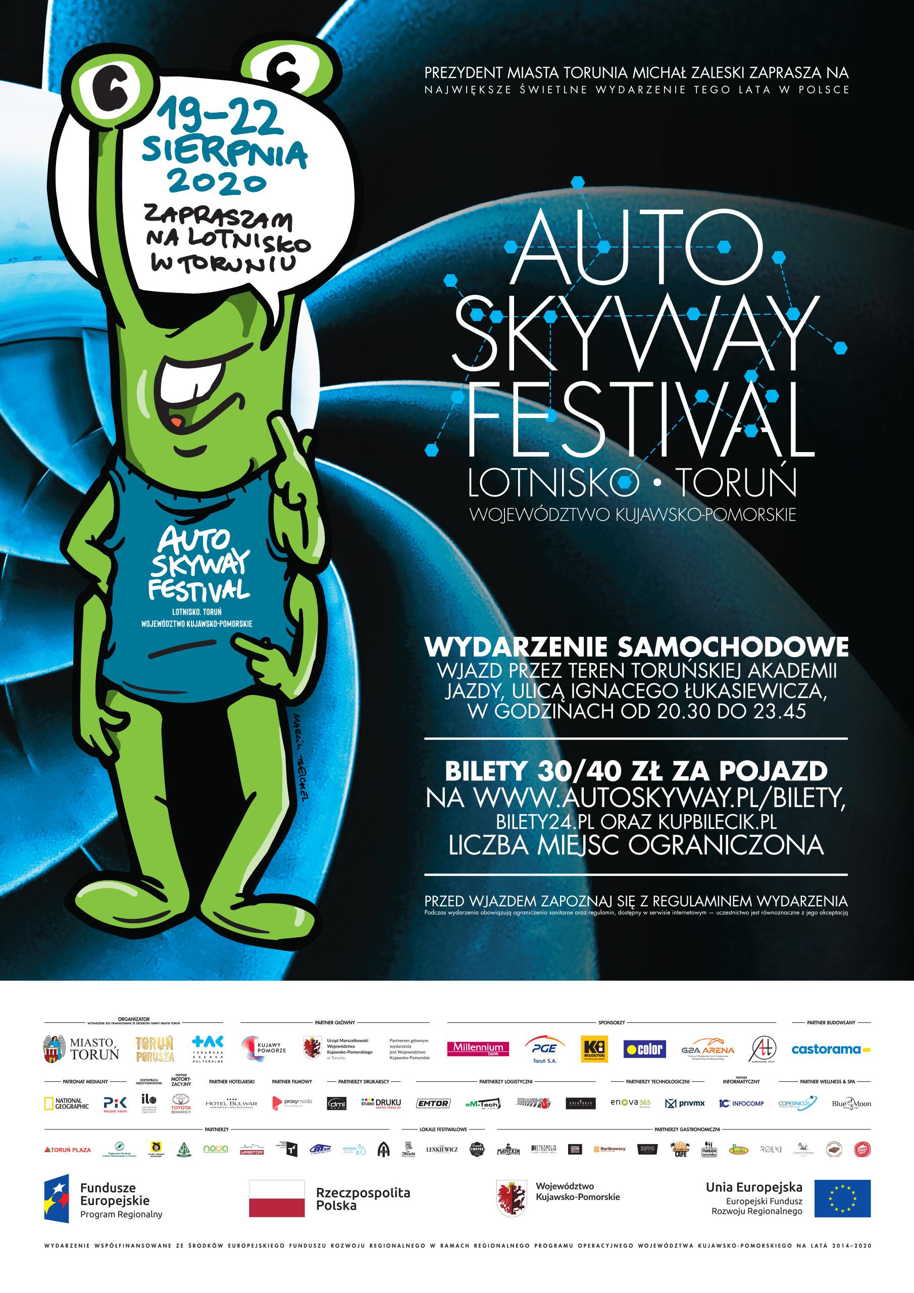 Afisz Auto Skyway Festival