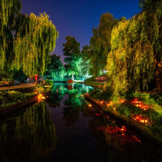 oświetlona Dolina Marzeń | Bella Skyway Festival