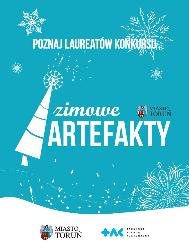 plakat wydarzenia Zimowe Artefakty