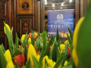 bukiet tulipanó