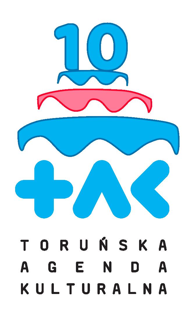 logo na 10-lecie Toruńskiej Agendy Kulturalnej