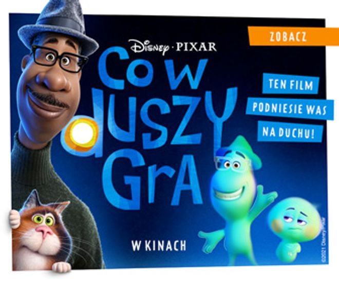 plakat filmu Disney Pixar Co wduszy gra