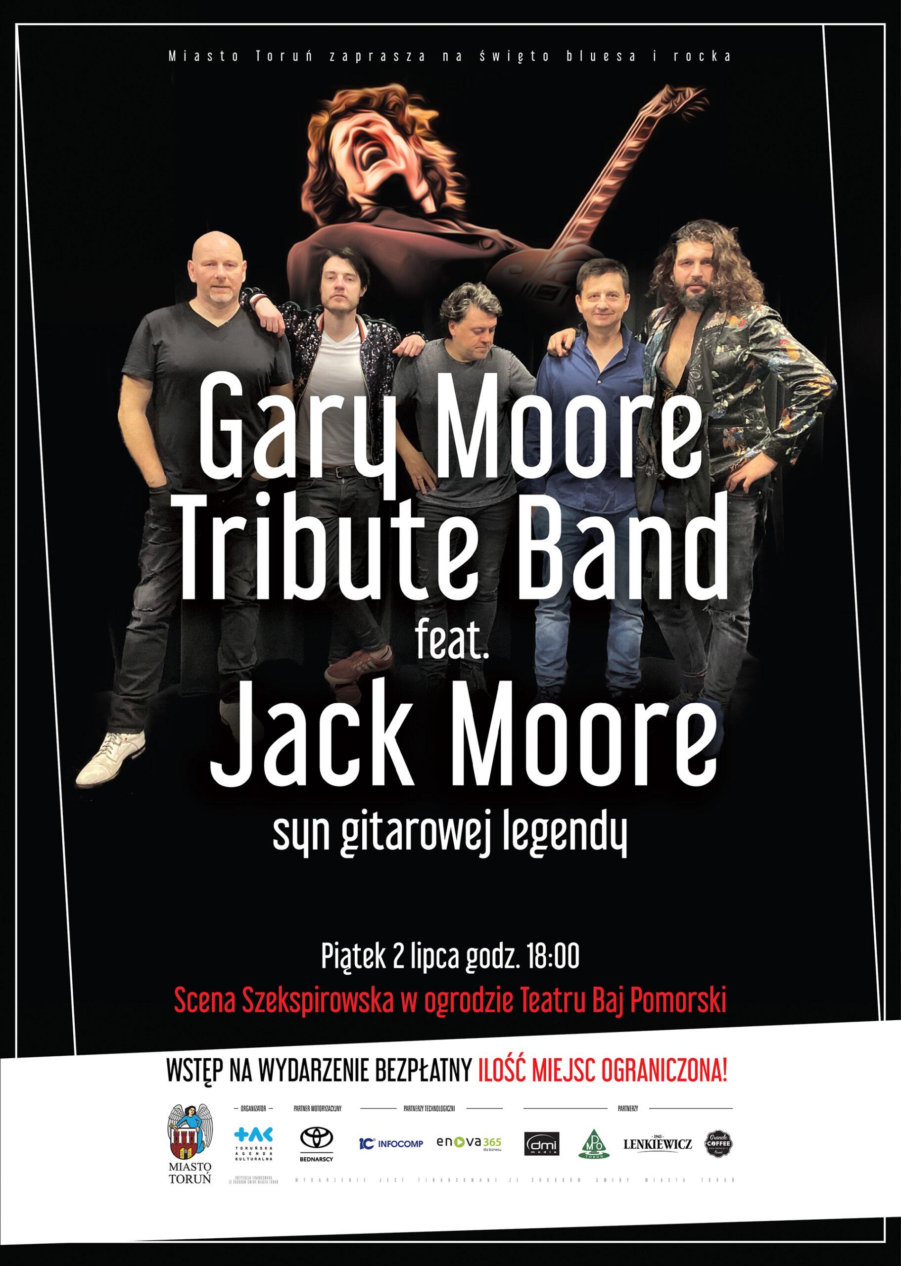 Gary Moore Tribute Band   Piątek 02.07.2021   godz. 18:00
