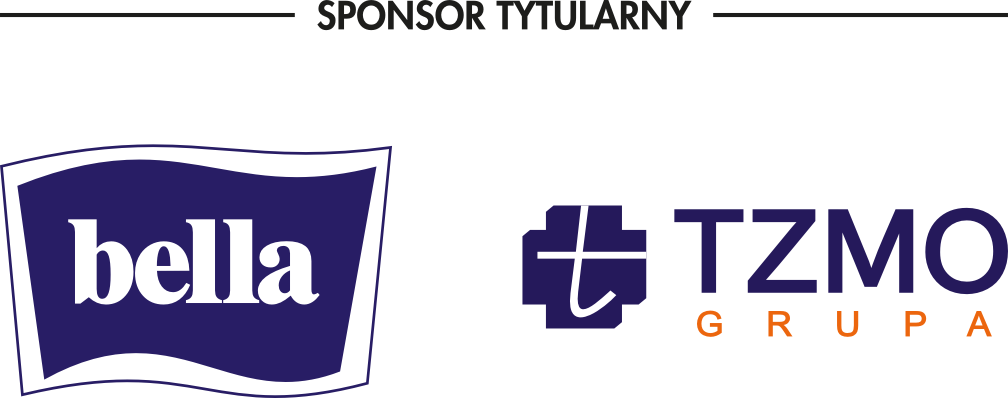 logo sponsora tytularnego Bella Grupa TZMO