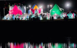 luminarium nocą | Architekci Powietrza