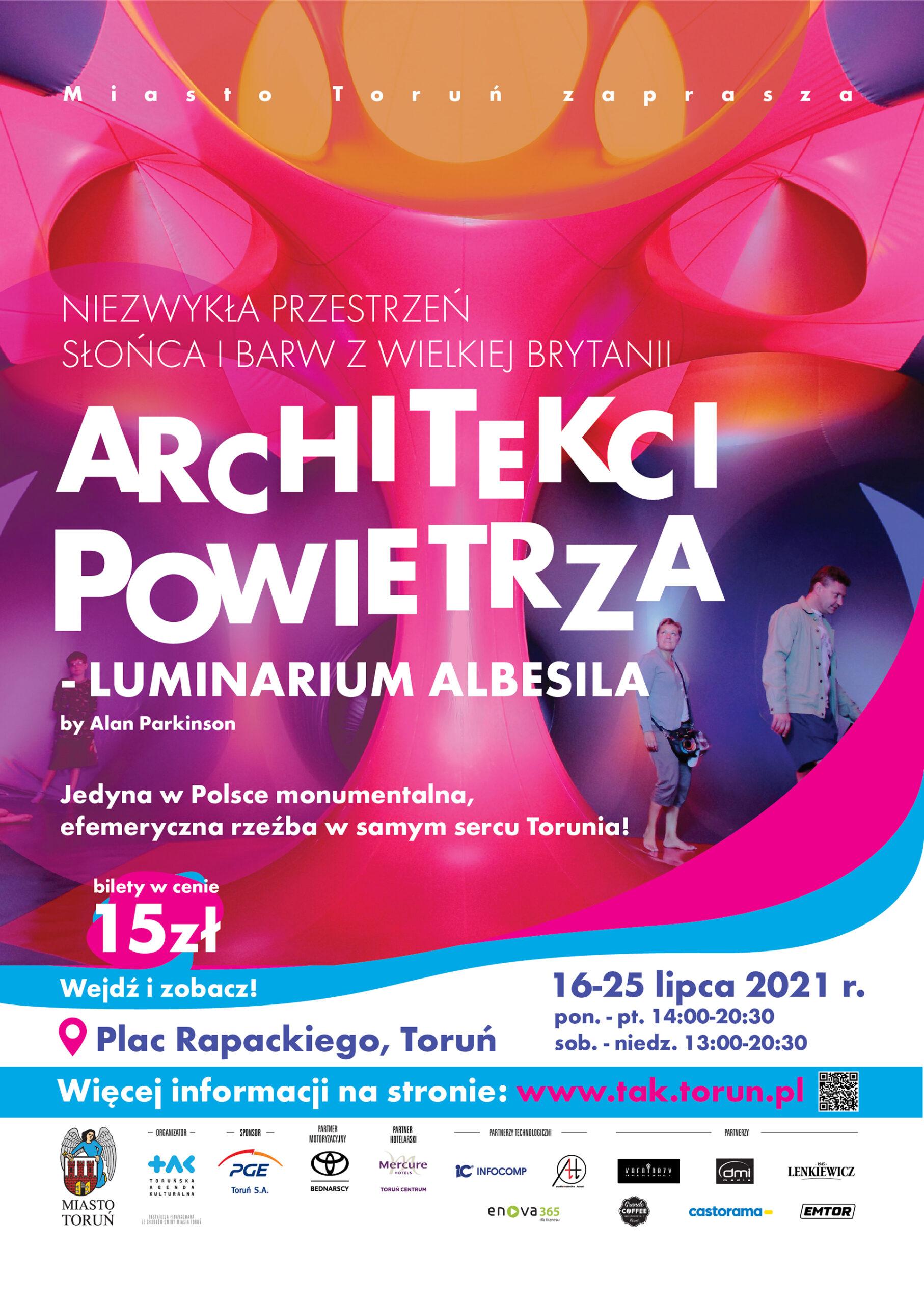 plakat wydarzenia Architekci Powietrza