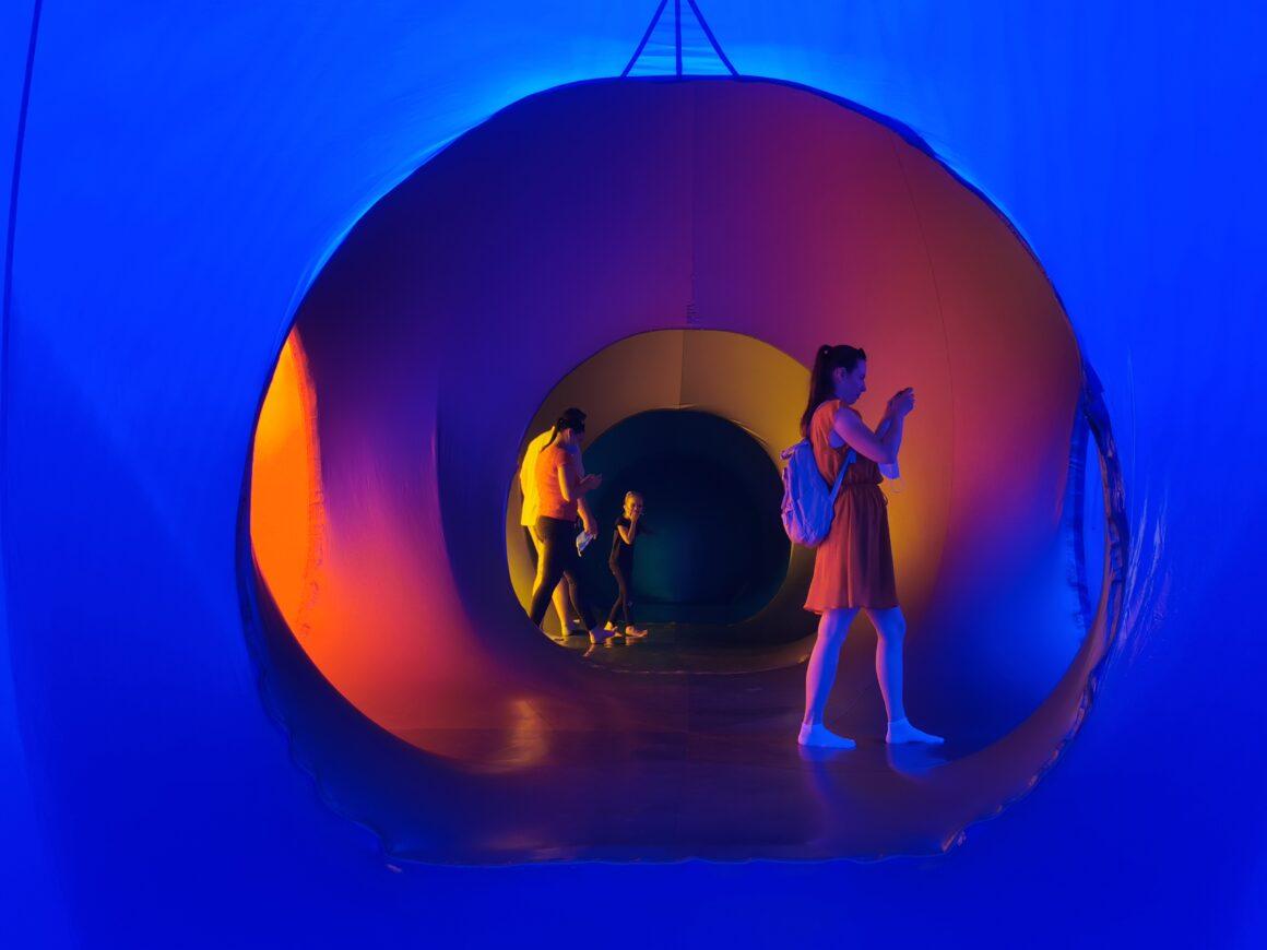 wnętrze luminarium | Architekci Powietrza